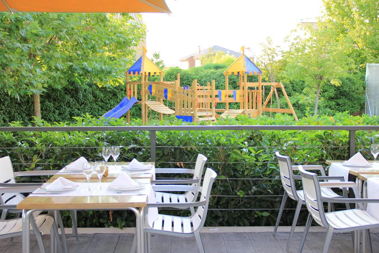 terraza zona infantil